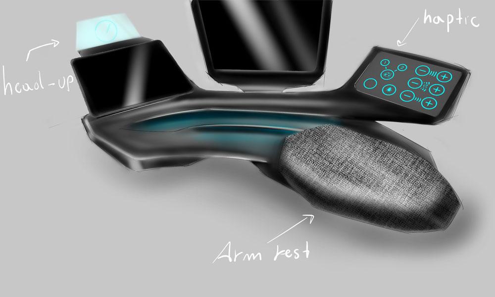 Image of spii driver desk design