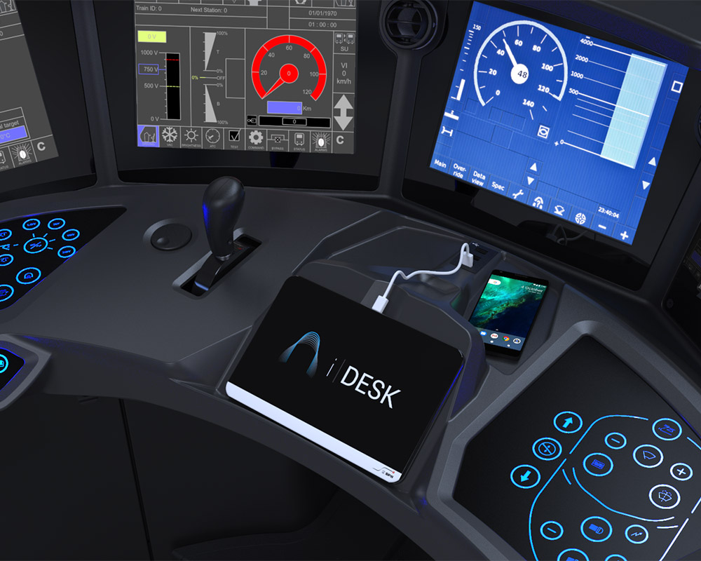 Image of spii product driver desk
