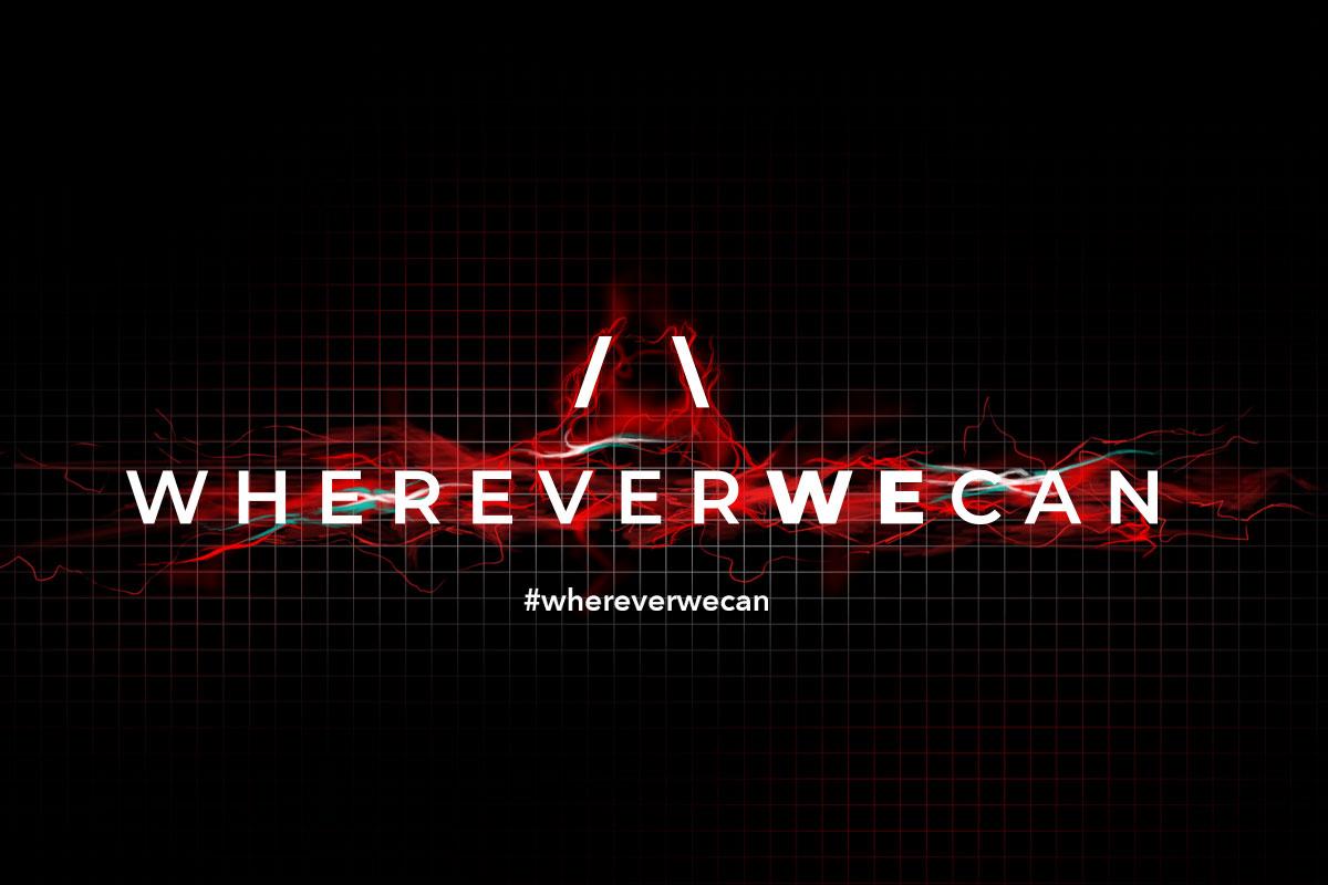 descrizione di come nasce il logo WhereverWeCan spii