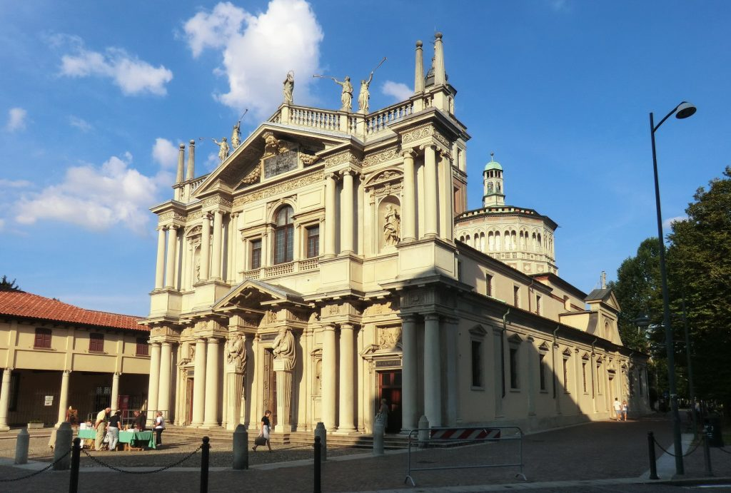 Saronno sanctuary