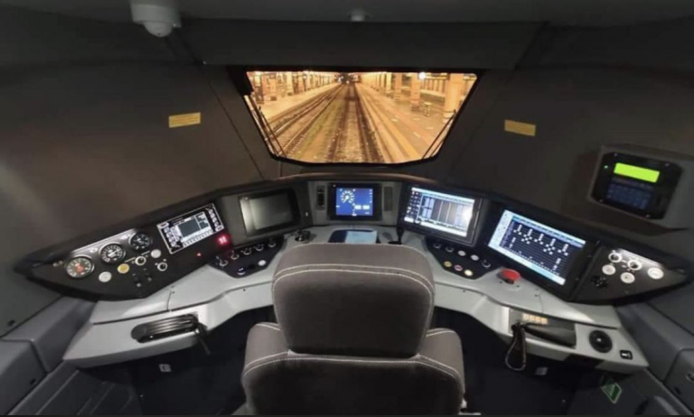 drivers cab train