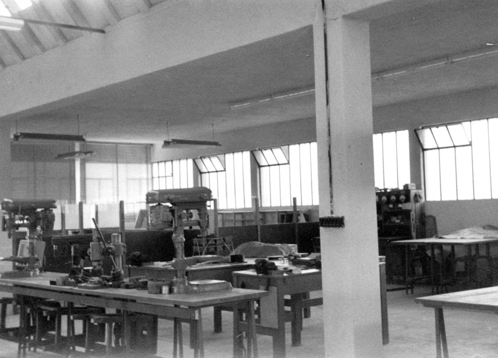 spii factory in the 1950s