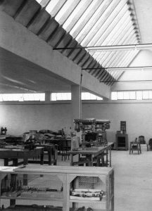 spii's factory in the 1950s